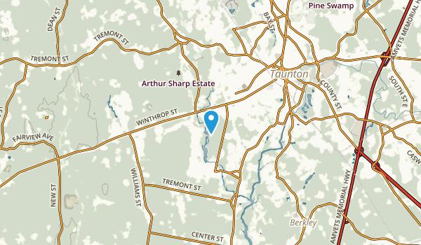 Westville, Massachusetts Map