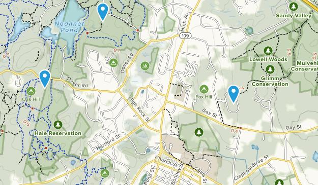 Westwood, Massachusetts Map