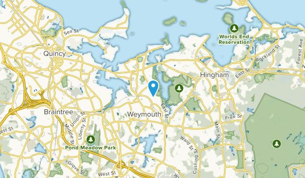 Weymouth Heights, Massachusetts Map
