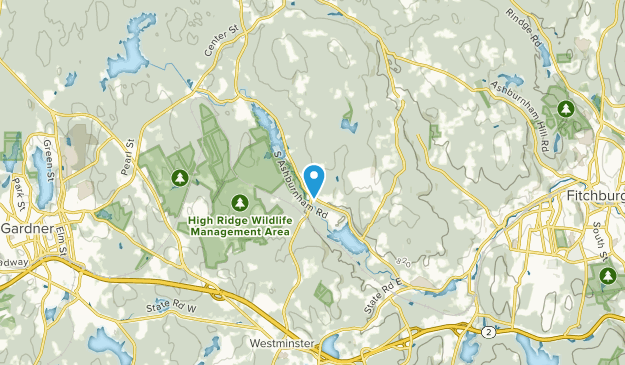 Whitmanville, Massachusetts Map
