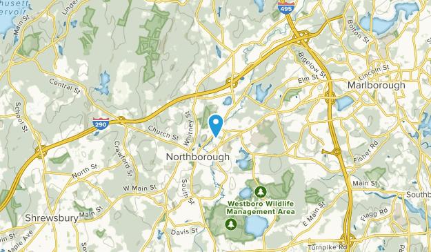 Woodside, Massachusetts Map