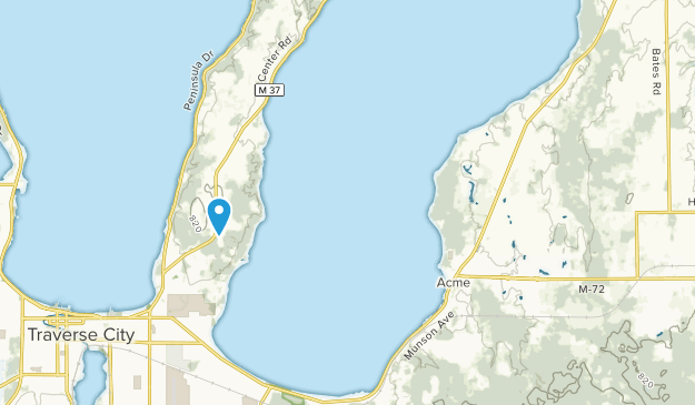 Acme, Michigan Map