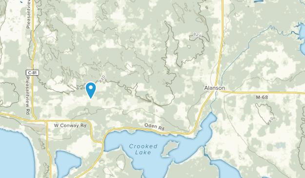 Alanson, Michigan Map
