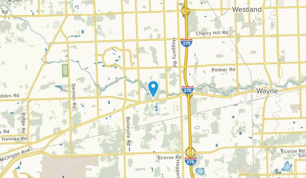Canton, Michigan Map