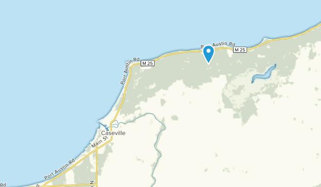 Caseville, Michigan Map