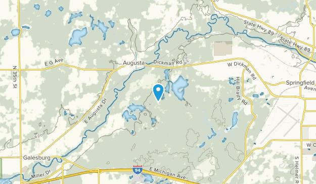 Charleston, Michigan Map