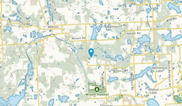 Commerce Township, Michigan Map