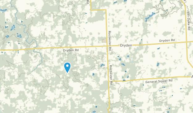 Dryden, Michigan Map