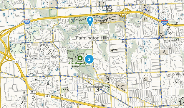Kirkwood Community College Campus Map.Farmington Hills Michigan Map Farmington Hills Michigan Map
