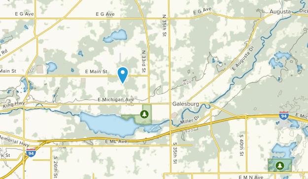 Galesburg, Michigan Map