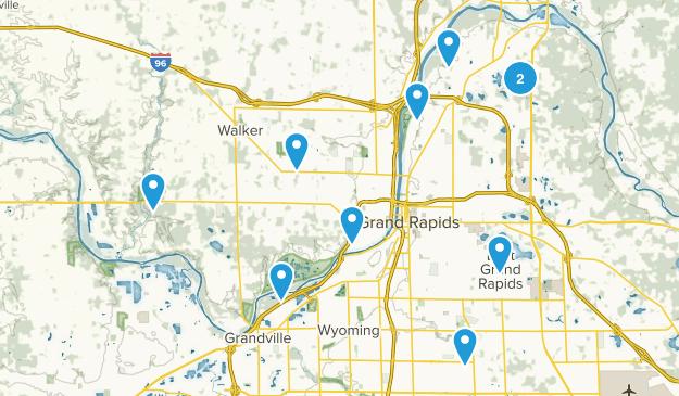 Grand Rapids, Michigan Map