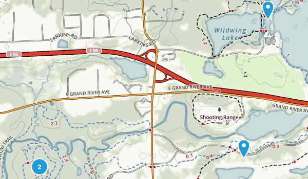 Green Oak, Michigan Map