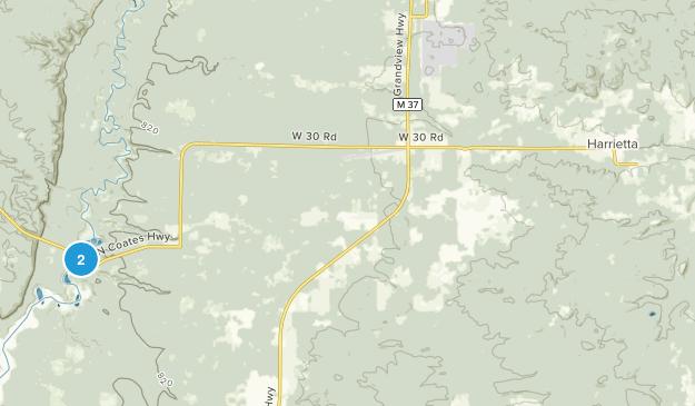 Harrietta, Michigan Map