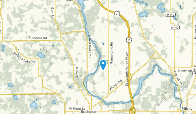 Hill's Haven Mobile Home Park, Michigan Map