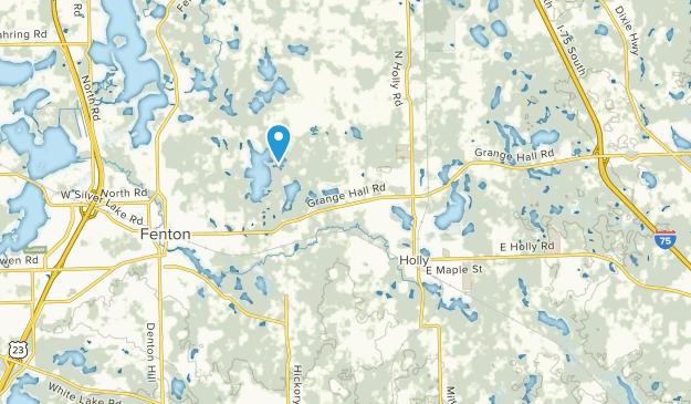 Holly Twp, Michigan Map