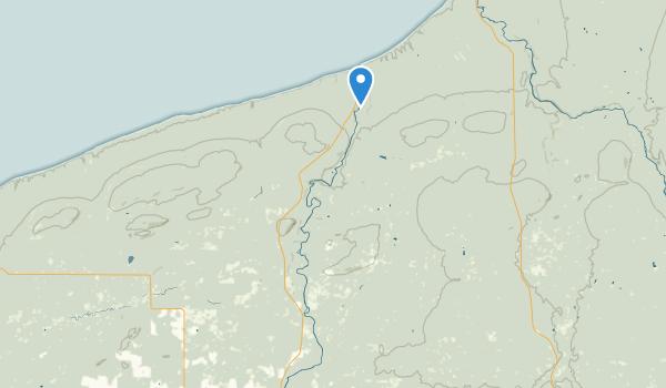 Ironwood, Michigan Map