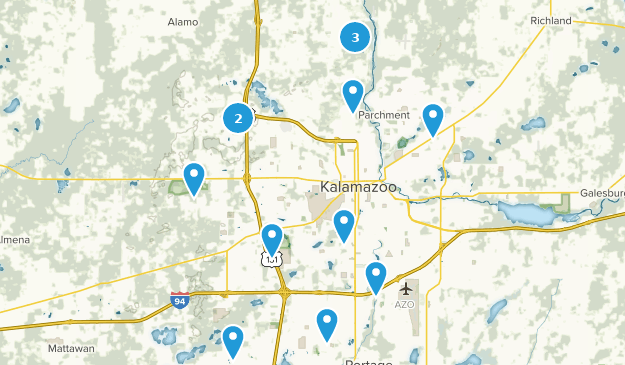 Best Trails near Kalamazoo, Michigan | AllTrails on luna pier map, alger heights map, commerce twp map, city map, fort custer training center map, west chicagoland map, bad axe map, st. ignace map, saginaw valley map, madison heights map, cooper township map, west covina map, livonia map, davenport university map, grand rapids community college map, three rivers map, ypsilanti map, akron canton map, norman map, bangor map,