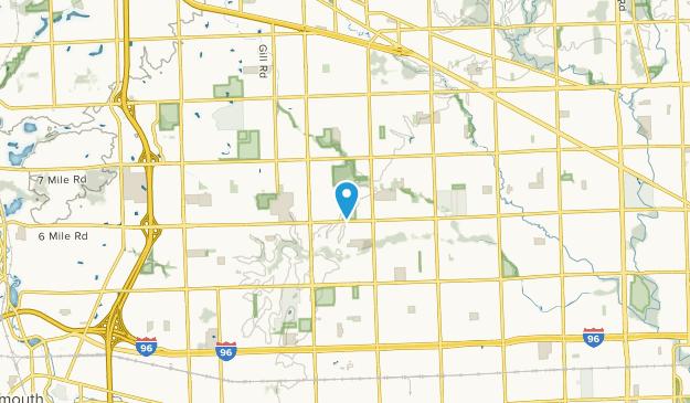 Livonia, Michigan Map