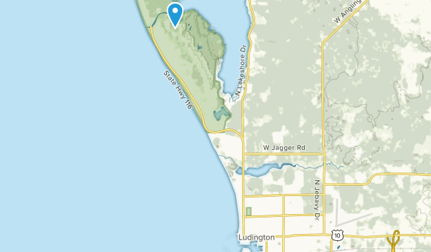 Ludington, Michigan Map