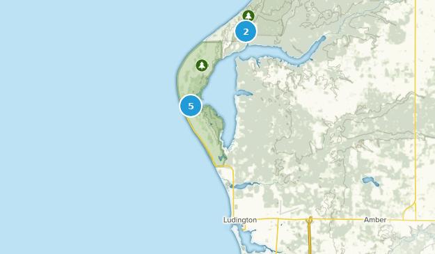 Ludington, Michigan Map