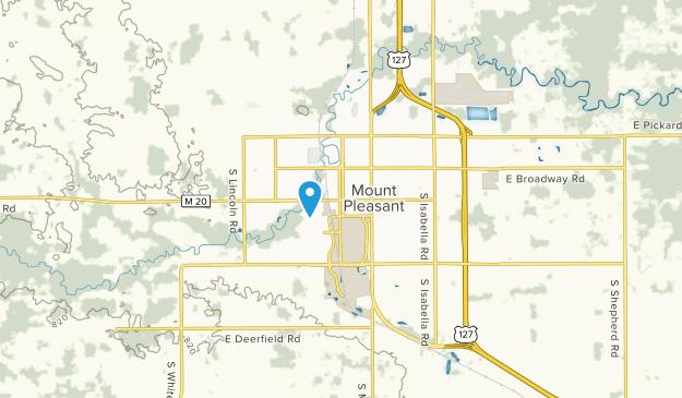 Best Trails Near Mount Pleasant Michigan Alltrails - Us-127-michigan-map