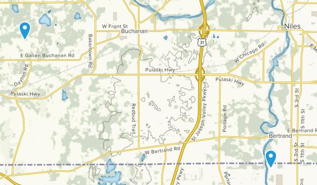 Buchanan Michigan Map.Best Trails Near Niles Michigan Alltrails