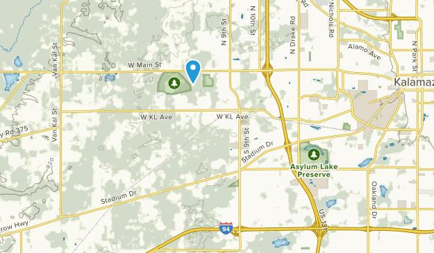 Oshtemo, Michigan Map