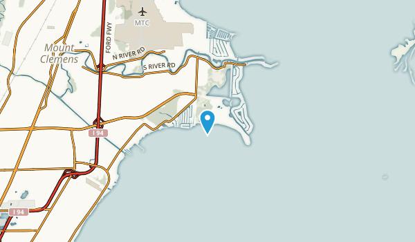 Saint Clair Haven, Michigan Map