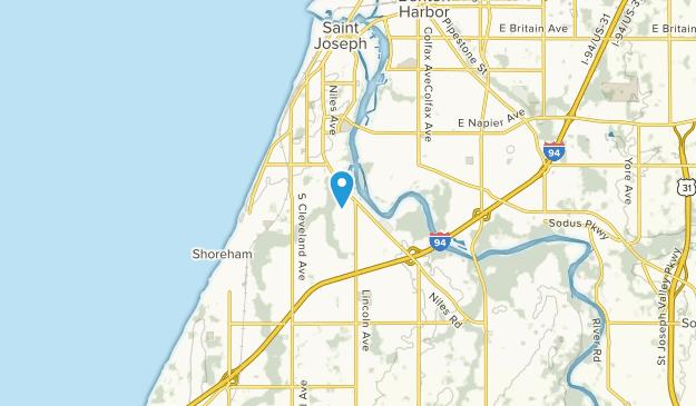Saint Joseph, Michigan Map