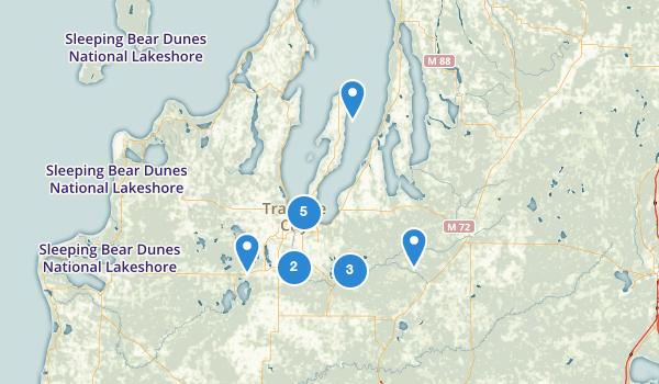 Traverse City, Michigan Map