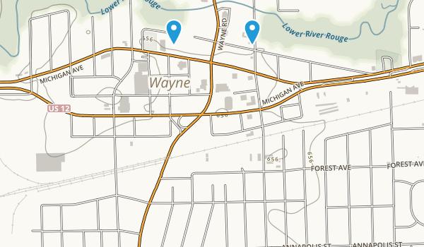 Best Trails Near Wayne Michigan Photos Reviews AllTrails - Us 12 michigan map