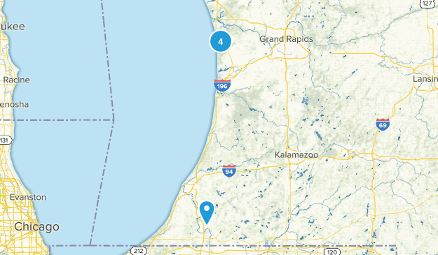 West Olive, Michigan Map