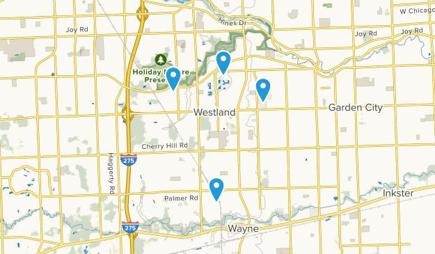 Westland, Michigan Map