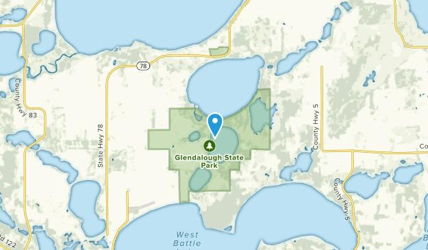 Battle Lake, Minnesota Map