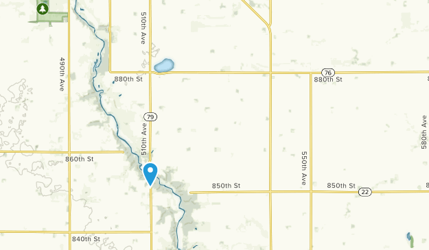 Belmont, Minnesota Map