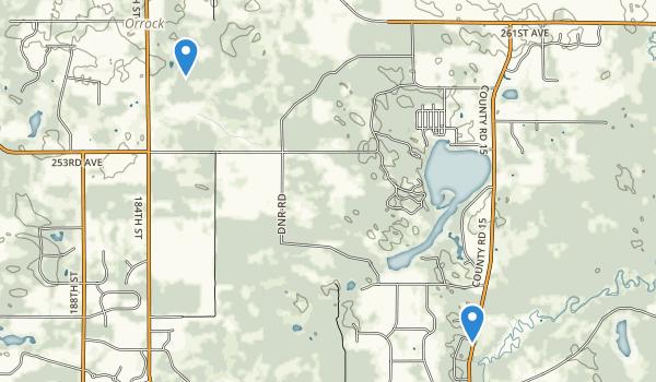 Big Lake, Minnesota Map