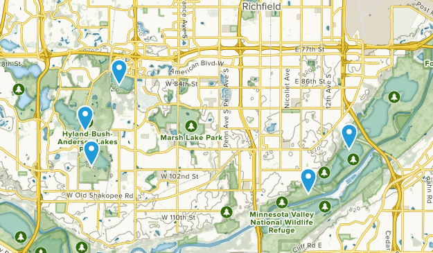 Bloomington, Minnesota Map