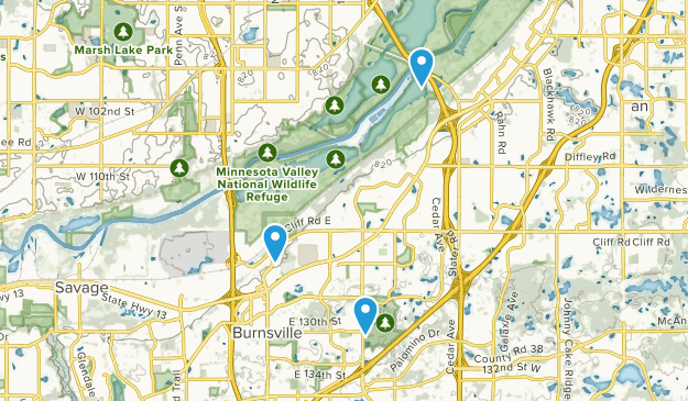 Burnsville, Minnesota Map