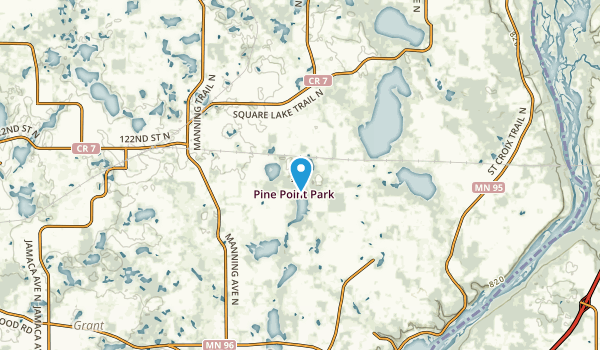 Carnelian Junction, Minnesota Map