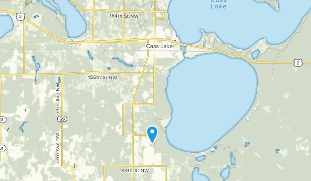 Cass Lake, Minnesota Map