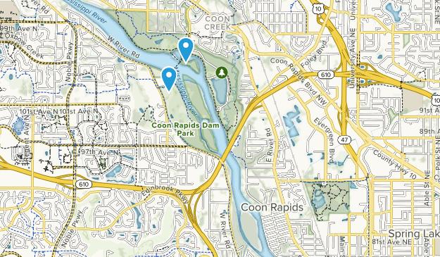 Coon Rapids, Minnesota Map