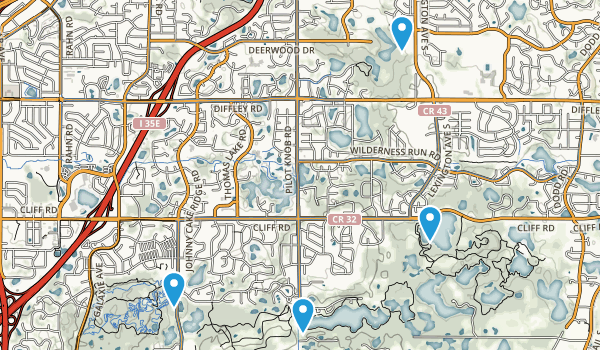 Eagan, Minnesota Map
