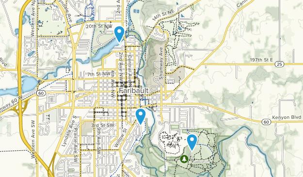 Faribault, Minnesota Map