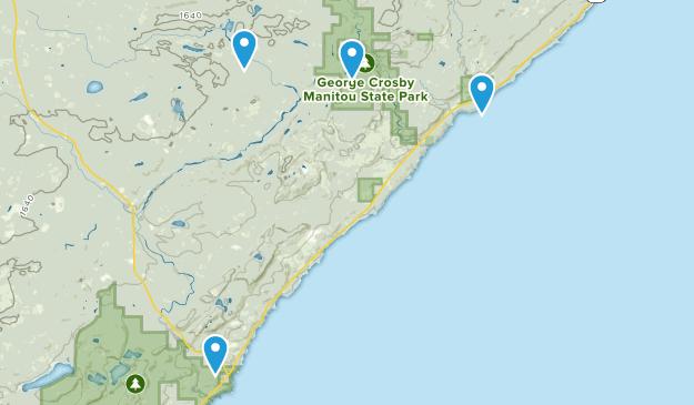 Finland, Minnesota Map