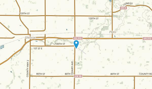 Helen, Minnesota Map