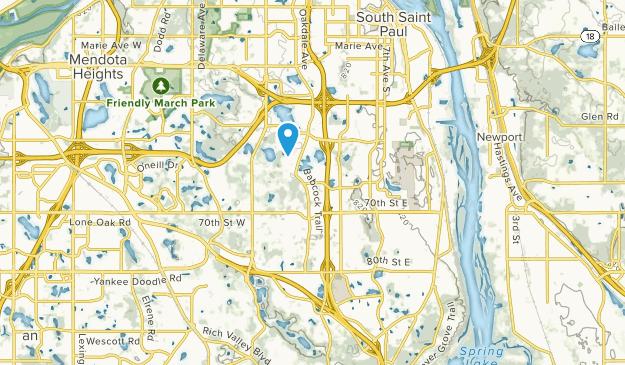Inver Grove Heights, Minnesota Map
