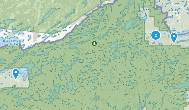 Isabella, Minnesota Map