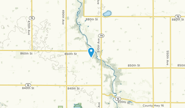 Jackson, Minnesota Map