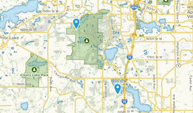 Lakeville, Minnesota Map