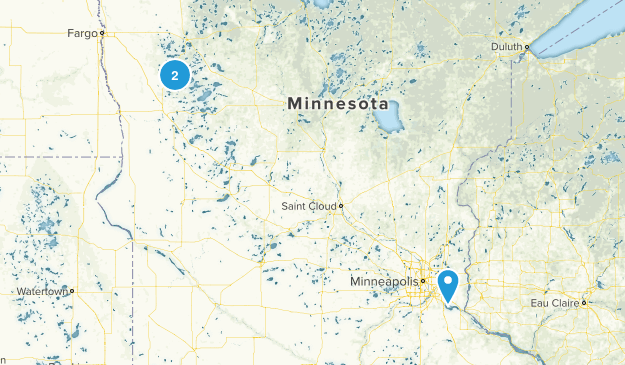 Maplewood, Minnesota Map